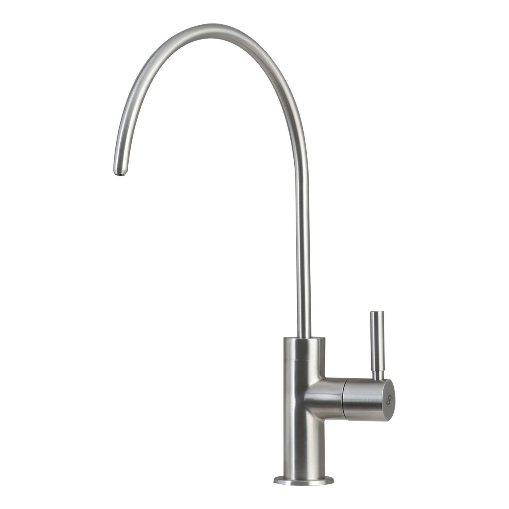 DAX Drinking Water Filter, Stainless Steel Body Faucet, Brushed Finish, DAX-PJ-01, Size 7 x 12 Inches