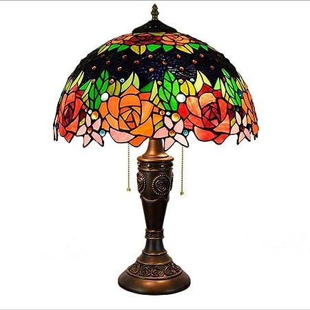 AIBOTY Lámpara de Escritorio Estilo Tiffany 16 Pulgadas Lámparas ...