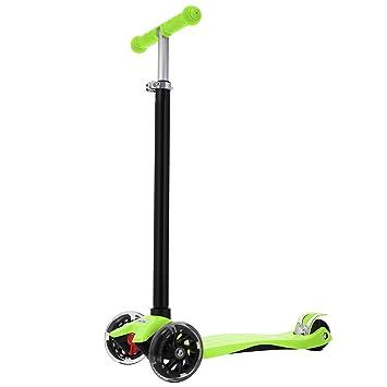 Ncient Mini Scooter Patinetes para Niños Niñas de 3-12 Años ...