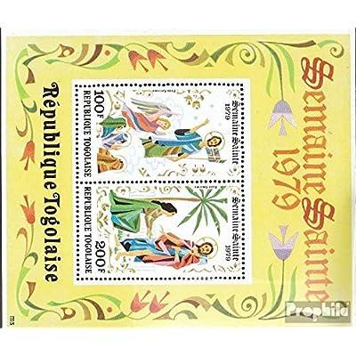 Togo Bloc 141 (complète.Edition.) 1979 pâques (Timbres pour les collectionneurs)