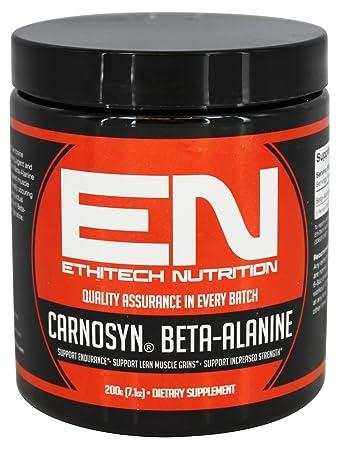 Amazon.com: ethitech Nutrición CarnoSyn beta-alanine 200 G ...