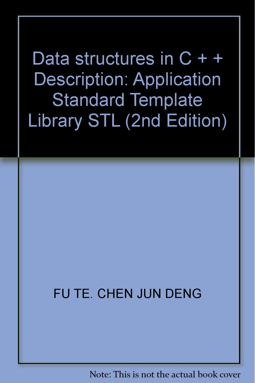 Data Structures In C Description Application Standard Template