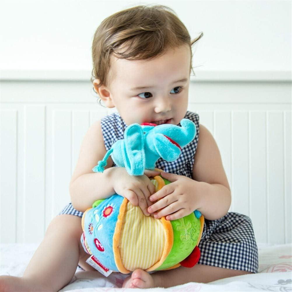 Juguete del traqueteo del bebé Agarrar la pelota Bebé elefante de ...