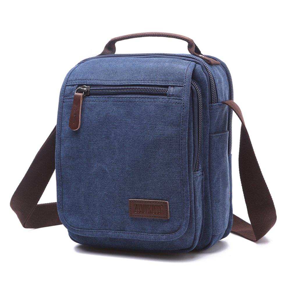 ENKNIGHT Nylon Crossbody Purse Bag for Women Travel Shoulder handbags (Navy blue-new)