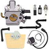 Details about  /Recoil Pull Starter For Stihl 036 MS360 034 MS340 Fuel Filter Line Cap Pawl Kit