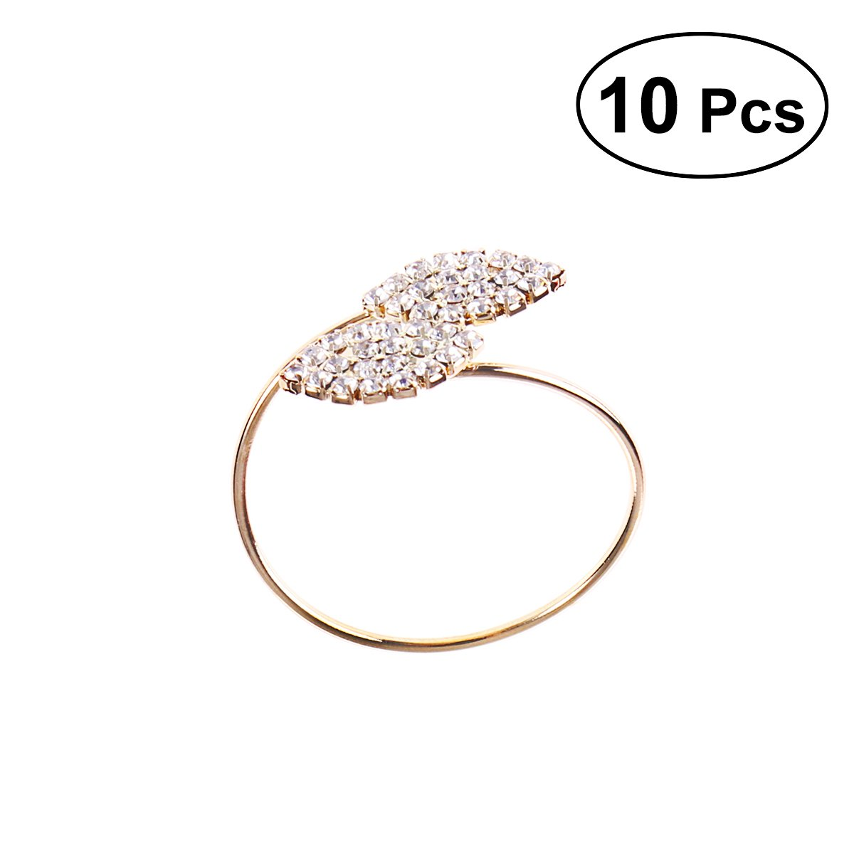 BESTOYARD 10pcs sostenes del anillo de la servilleta del ...