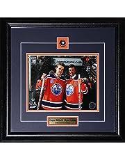 Connor McDavid & Wayne Gretzky Edmonton Oilers Rexall Place Final Game 8x10 NHL Hockey Frame