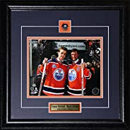Connor McDavid & Wayne Gretzky Edmonton Oilers Rexall Place Final Game 8x10 NHL Hockey F