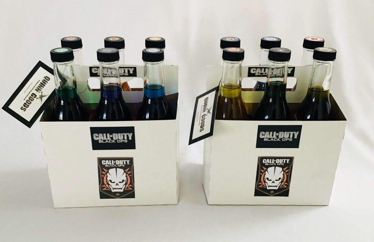 COD Perk A Cola Replica 12 pack Perk Soda Set