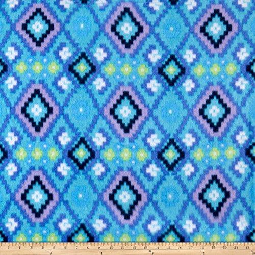 Newcastle Fabrics Polar Fleece Kai Blue Fabric By The Yard ()