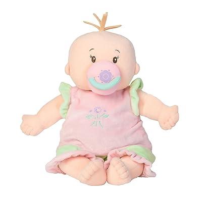 Manhattan Toy Baby Stella Peach Soft Nurturing First Baby Doll: Toys & Games
