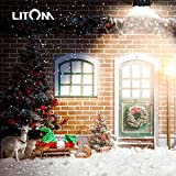 LITOM Classic Solar Lights Outdoor, 20 LED Wireless