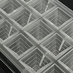 Jeteven 3D Pyramid Clear Polycarbonate Chocolate Mold Jelly Candy Making Mold 21-Piece Tray