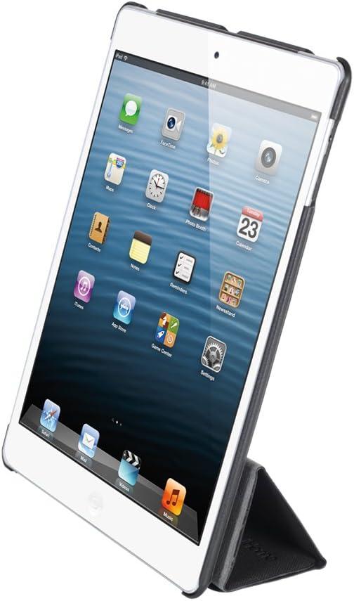 iHome Origami Vertical Smart Book Hard Back for iPad mini, Black (IH-IM1163B)