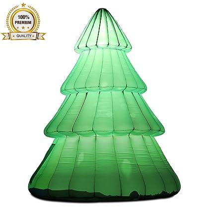Amazon.com: Union Sports - Árbol de Navidad inflable con luz ...