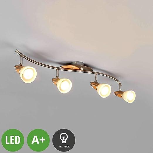 LED Lámpara de techo Marena (Tradicional) en Gris hecho de ...