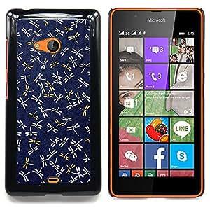 """Planetar ( Festiva Pascua colorido pájaro de la naturaleza"""" ) Nokia Lumia 540 Fundas Cover Cubre Hard Case Cover"""