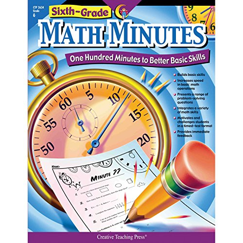 math minutes 6th grade buyer's guide