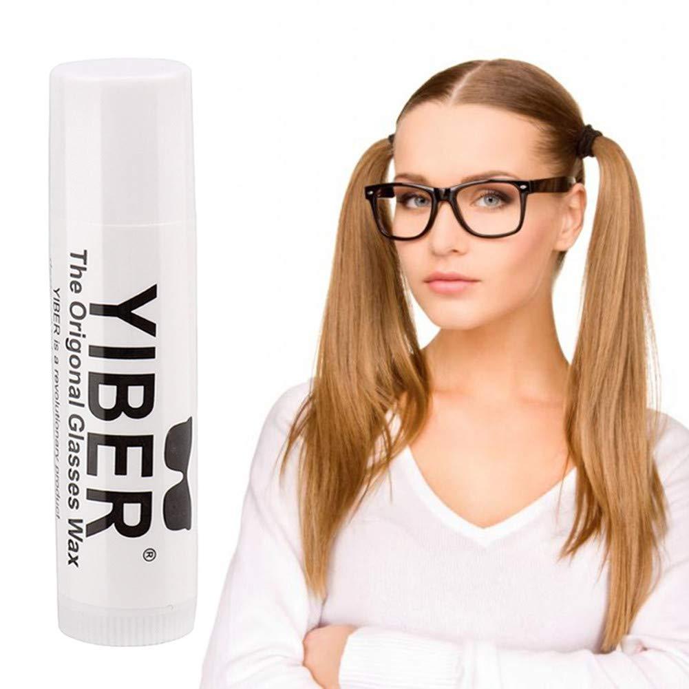 ZHONGLI gafas antideslizantes de cera unisex gafas antideslizantes antideslizantes de cera retenedores de gafas ideales para la moda deportiva de hombres mujeres
