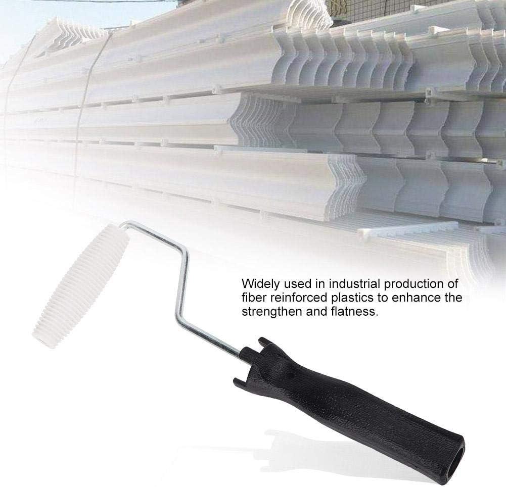 Mumusuki Di/ámetro 18-27x95mm Herramienta de Laminado de Rodillo de Laminado de Burbujas de Fibra de Vidrio para Accesorios de Revestimiento de Resina FRP