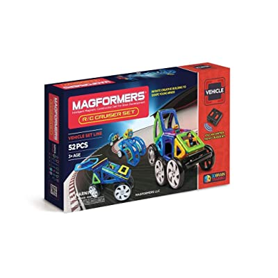 Magformers Vehicle R/C Cruiser Set (52-pieces): Toys & Games