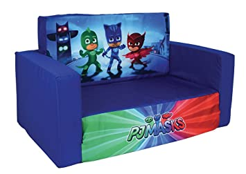 dd55017f642c4 FUN HOUSE 712964 PYJAMASQUES Canapé Convertible pour Enfant Polyester 65 x  40 x 39 cm