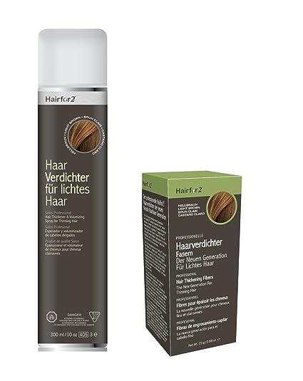 Nevera Pack: hairfor2 300 ml Spray + 25 g dispersa pelo