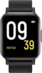 SoundPEATS Smart Watch Fitness Tracker with All Day Heart Rate Monitor Sleep Quality Tracker IP68 Waterproof 1.4