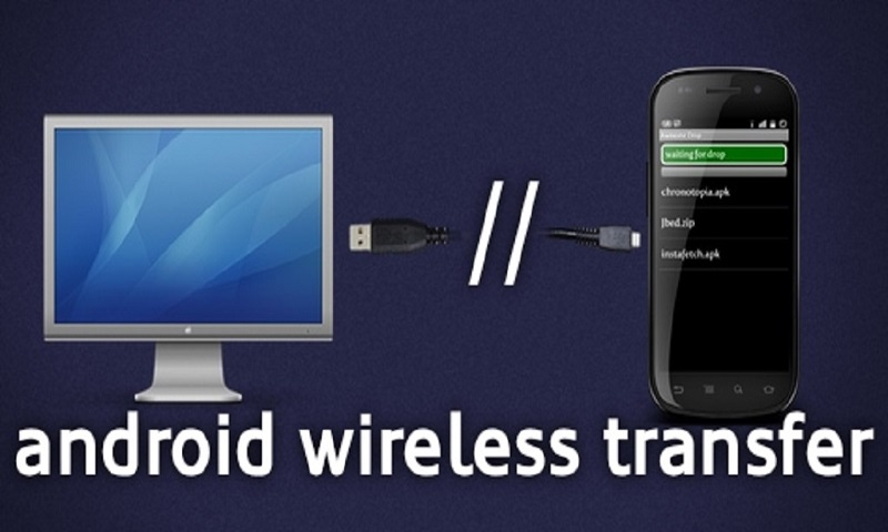 how to use wifi direct to transfer files
