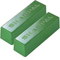 SHARPAL 208H 106g / 4 Oz. Polishing Compound Fine Green Buffing Compound Leather Strop Sharpening Stropping Compounds (2…