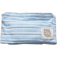Faixa Abdominal c/Ervas, Zip, azul bebê