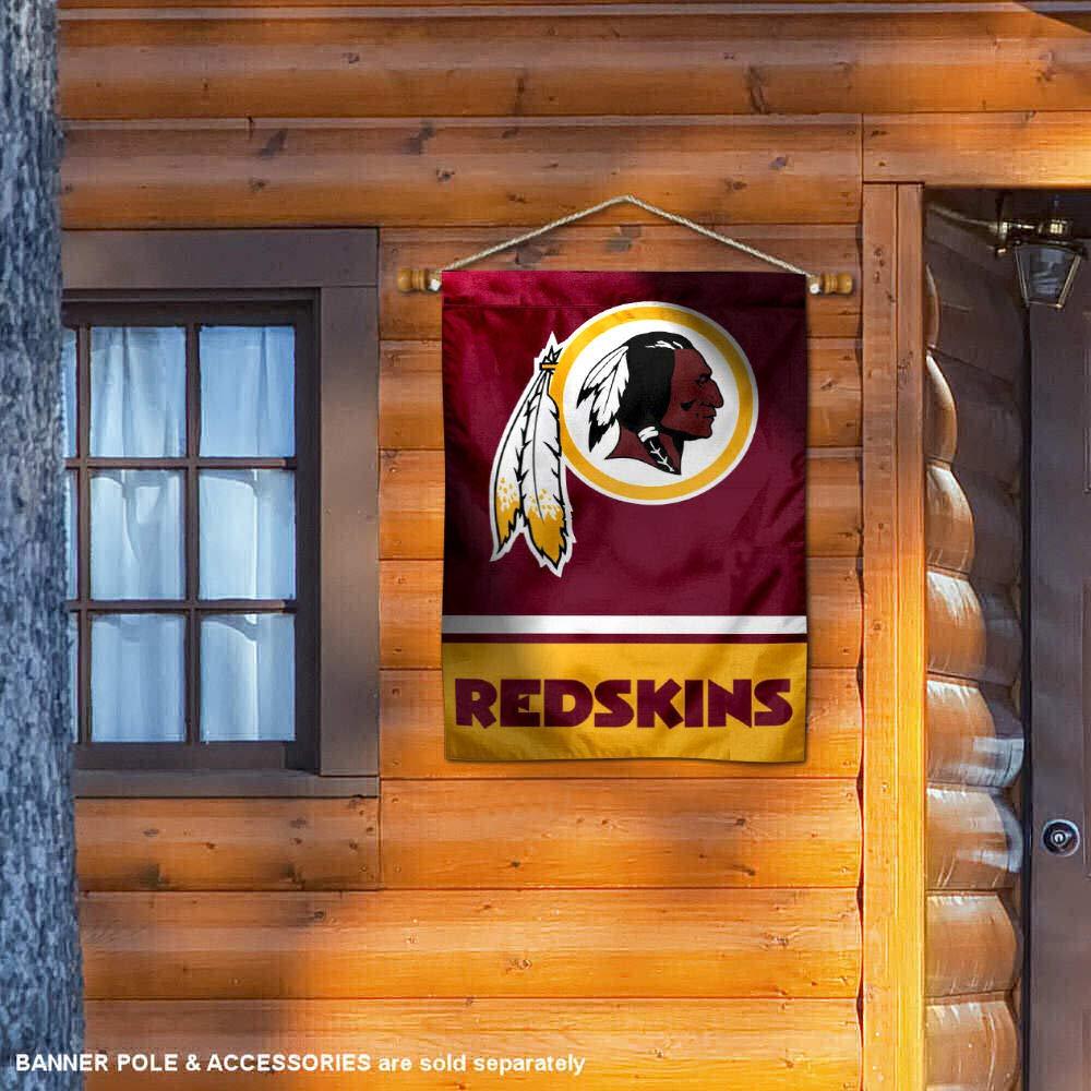 WinCraft Washington Redskins Two Sided House Flag