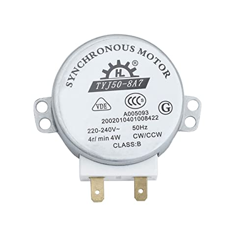 Tinksky tyj 50-8A7 AC 220 V-240 V 4 RPM 4W CWCCW microondas ...