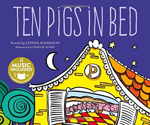 Ten Pigs in Bed (Sing-along Math Songs)