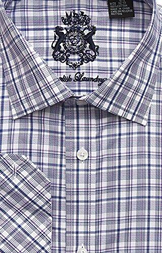 (English Laundry Navy Dress Shirt (17 32/33))