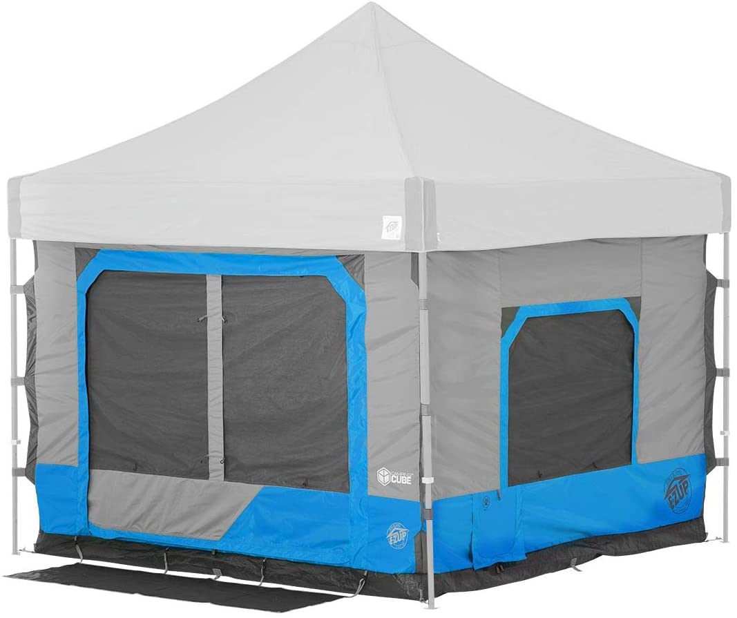EZ-UP Camping Tent With AC Port