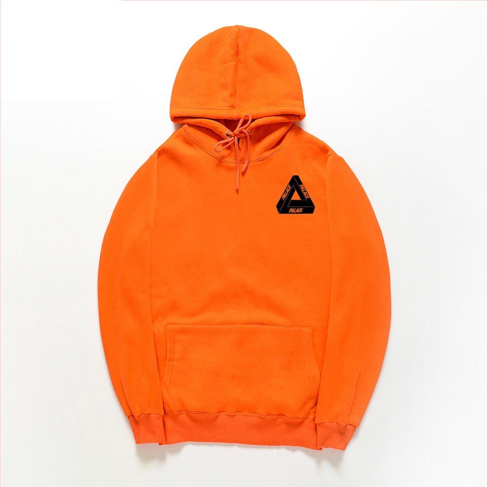 1d10db7f6213 CORIRESHA Street Fashion Bright Color Triangle Logo Hooded Sweatshirt at  Amazon Women s Clothing store