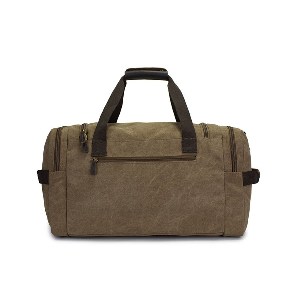 4f0c97df38c6 Amazon.com: Ybriefbag Unisex Canvas Travel Bag Casual Messenger Bag ...