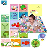 Finemart Playing Crawl Floor Mat Water Resistant X-Large (150 cm x 180 cm) (Color and Design May Vary)