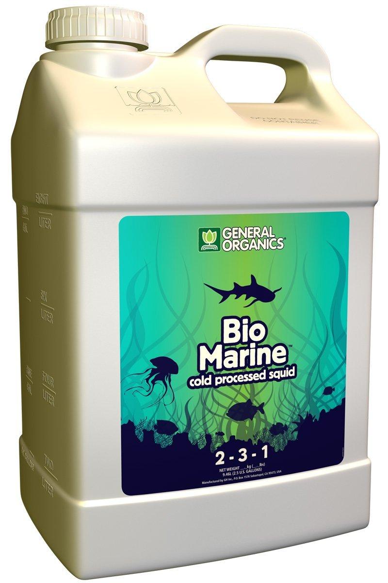 General Hydroponics Organics Bio Marine for Plants, 2.5-Gallon