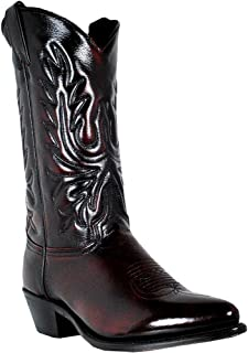 product image for Abilene Men's Cherry Polished Cowhide Boot - 6461