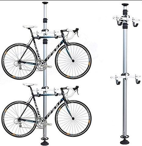 Kw-tool Gancho de Bicicleta de Doble Gancho, Soporte para Bicicletas de Almacenamiento en Rack Soportes para Montaje en Pared Gancho de suspensión, aleación de Aluminio: Amazon.es: Deportes y aire libre
