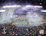 Metlife Stadium after the Seattle Seahawks win Super Bowl XLVIII Photo 8 x 10in