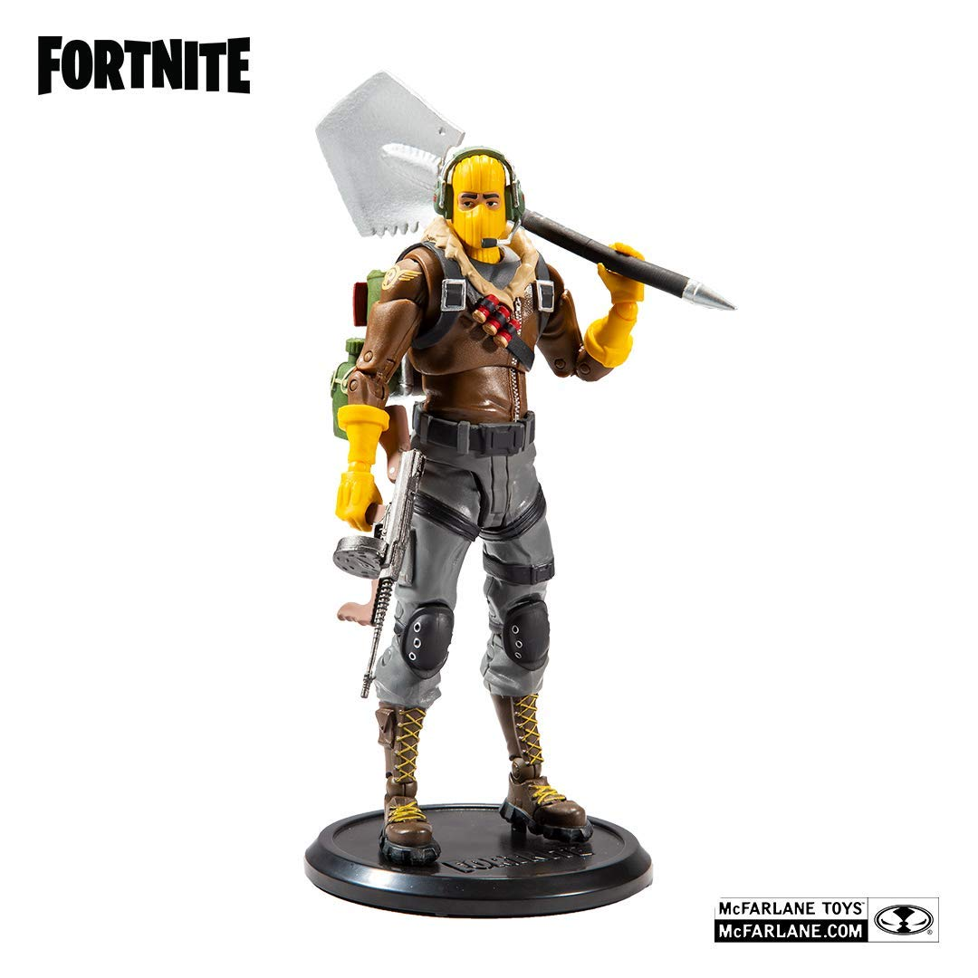 "EPIC Games MCFARLANE TOYS Fortnite Raptor 7/"" Action Figure NOUVEAU"