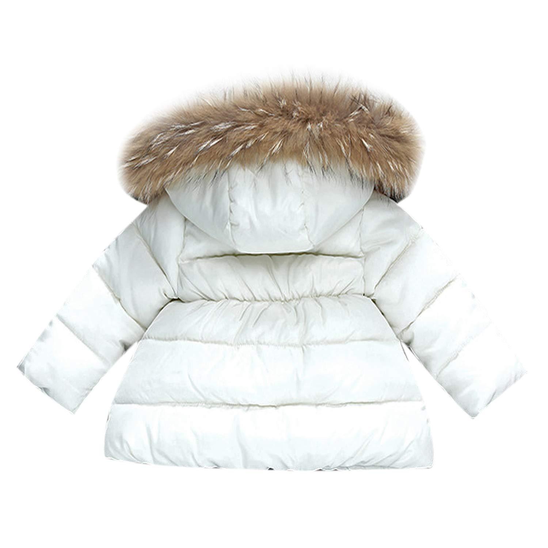 De feuilles Blouson /à Capuche B/éb/é Gar/çon Fille Manteau Doudoune Manches Longues Vest Blouson Gilet Enfant Doux et Confortable