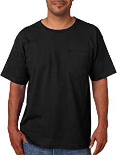 product image for Bayside Mens USA-Made Short Sleeve T-Shirt 5070-Black