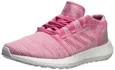 7c3001914 Image Unavailable. Image not available for. Color: adidas Unisex Pure Boost  Go Running Shoe, semi Solar Pink/Clear Brown ...