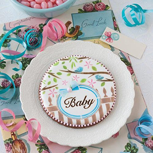 Stencil Frame (Baby 2 Prettier Plaques Cookie Stencil Set by Julia Usher)