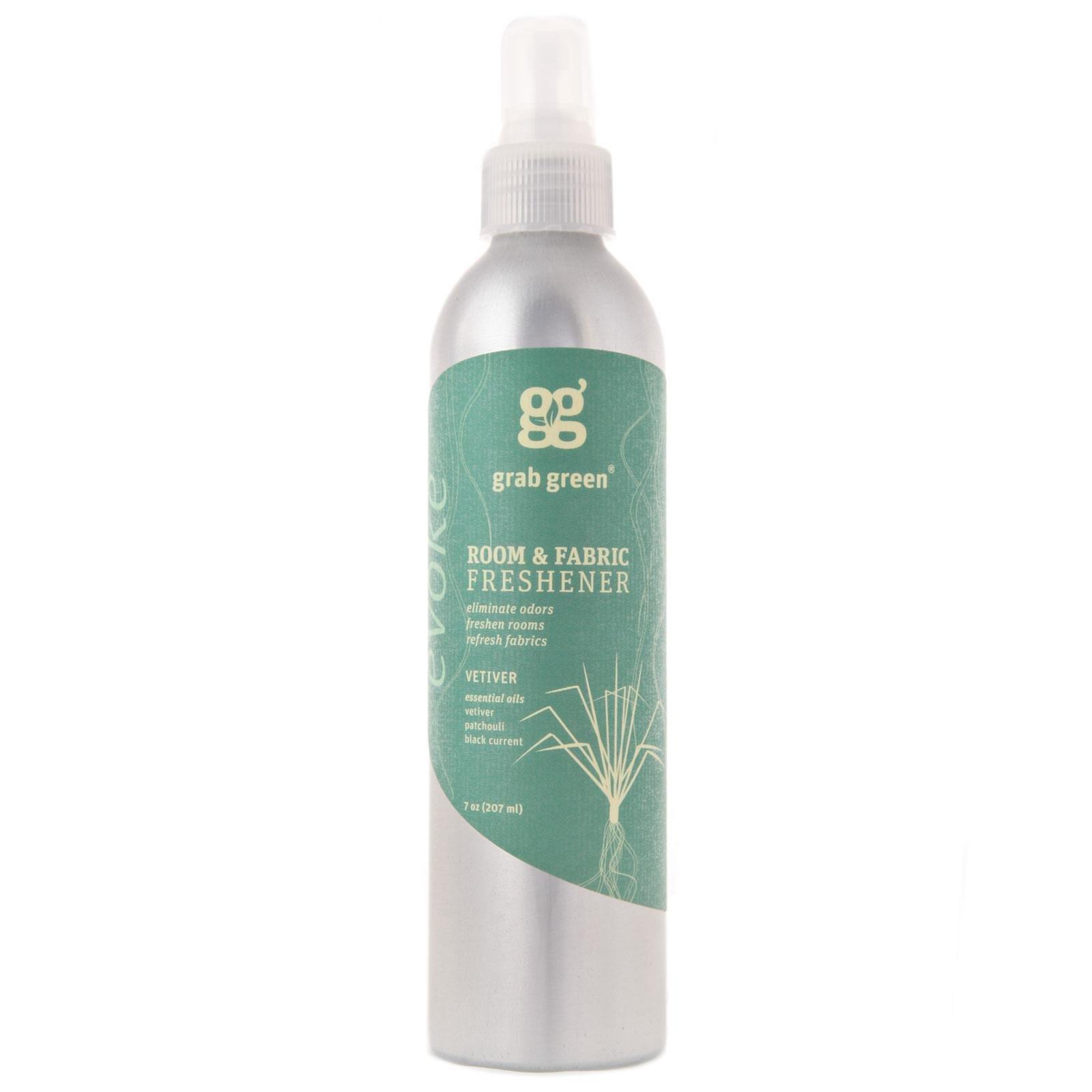 GrabGreen Room & Fabric Freshener Vetiver -- 7 oz