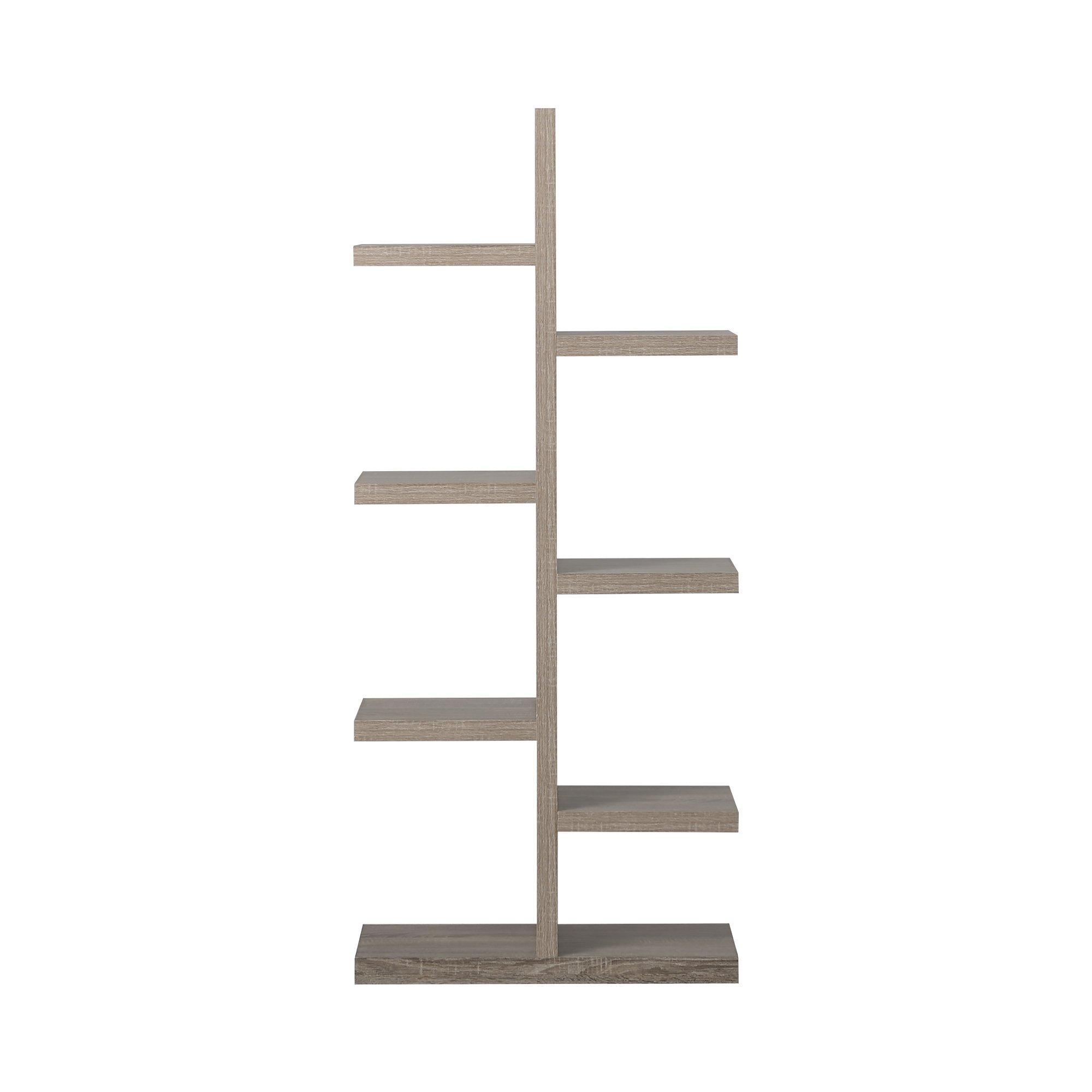 Homestar 7-Shelf Bookcase in Reclaimed Wood